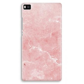 Huawei Ascend P8 Full Print Case - Pink Marble