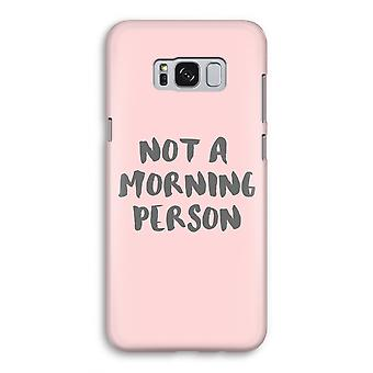 Samsung Galaxy S8 Full Print Case - Morning person