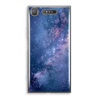 Sony Xperia XZ1 transparente estuche - nebulosa
