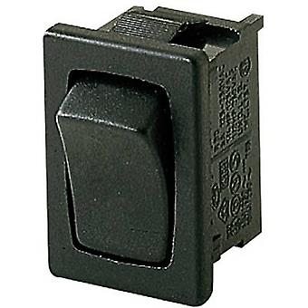 Toggle switch 250 V AC 10 A 1 x On/(On) Marquardt