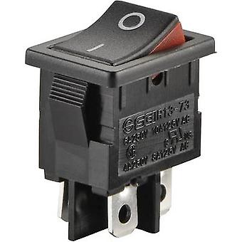 Toggle switch 250 V AC 6 A 2 x Off/On SCI R13-73A2