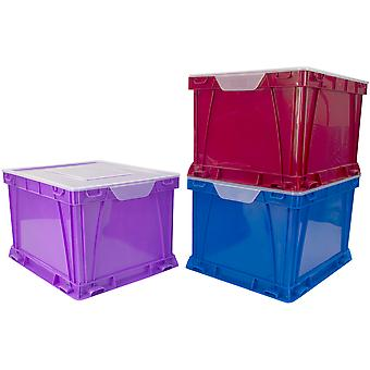 Storex Storage And Filing Cube 17.3