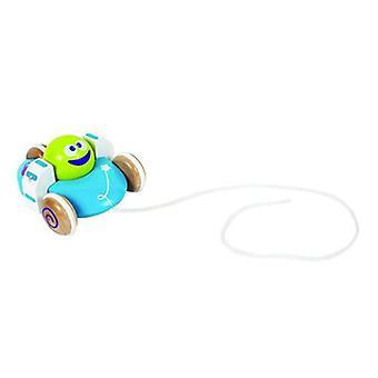 Boikido fliegende Untertasse aus Holz ziehen entlang Raum Spielzeug für 12 m +
