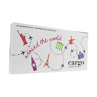 Cargo Around The World Eye Shadow Palette 12 X 0.03Oz/0.8g New In Box