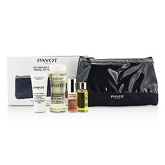 Payot Travel Kit Top a conjunto: Limpieza aceite 50ml + Crema 15ml + Elixir D'Ean esencia 5ml + Elixir aceite 10 ml + bolso 4pcs + 1bag
