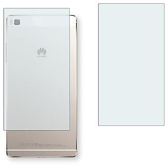 Huawei P8 back screen protector - Golebo crystal clear protection film