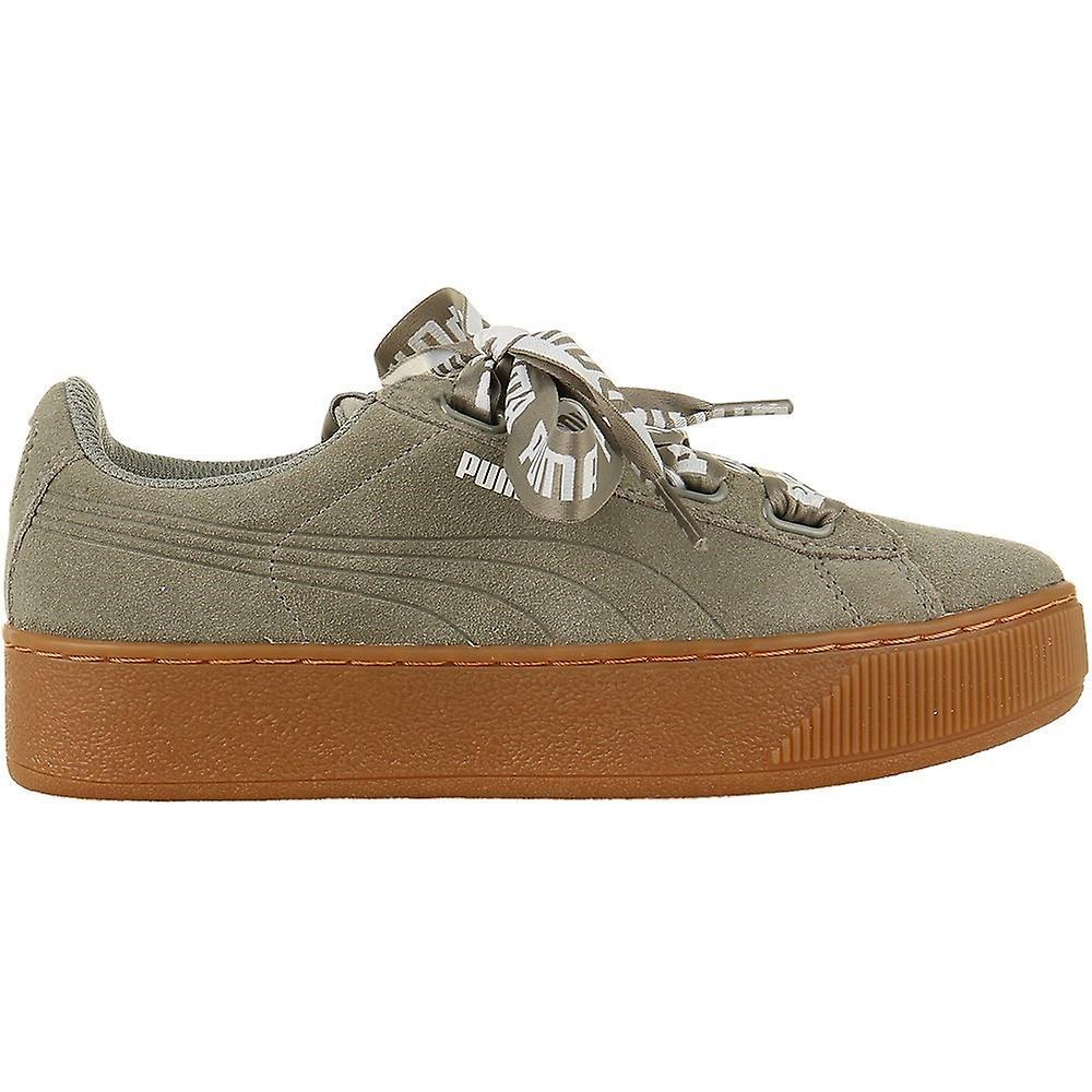 Puma Vikky Platform Ribbon Wns 36531403 universal summer women shoes