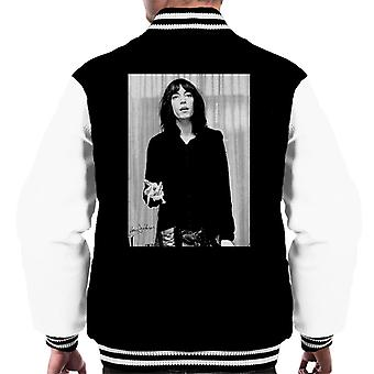 Patti Smith Smoking 1976 Men's Varsity Jacket