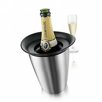 Vacu Vin elegancki Champagne Cooler ze stali nierdzewnej