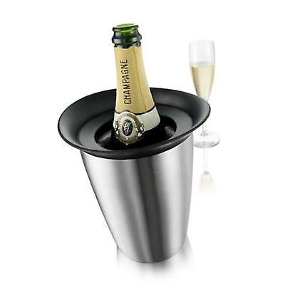 Vacu Vin Elegant Champagne Cooler stainless steel