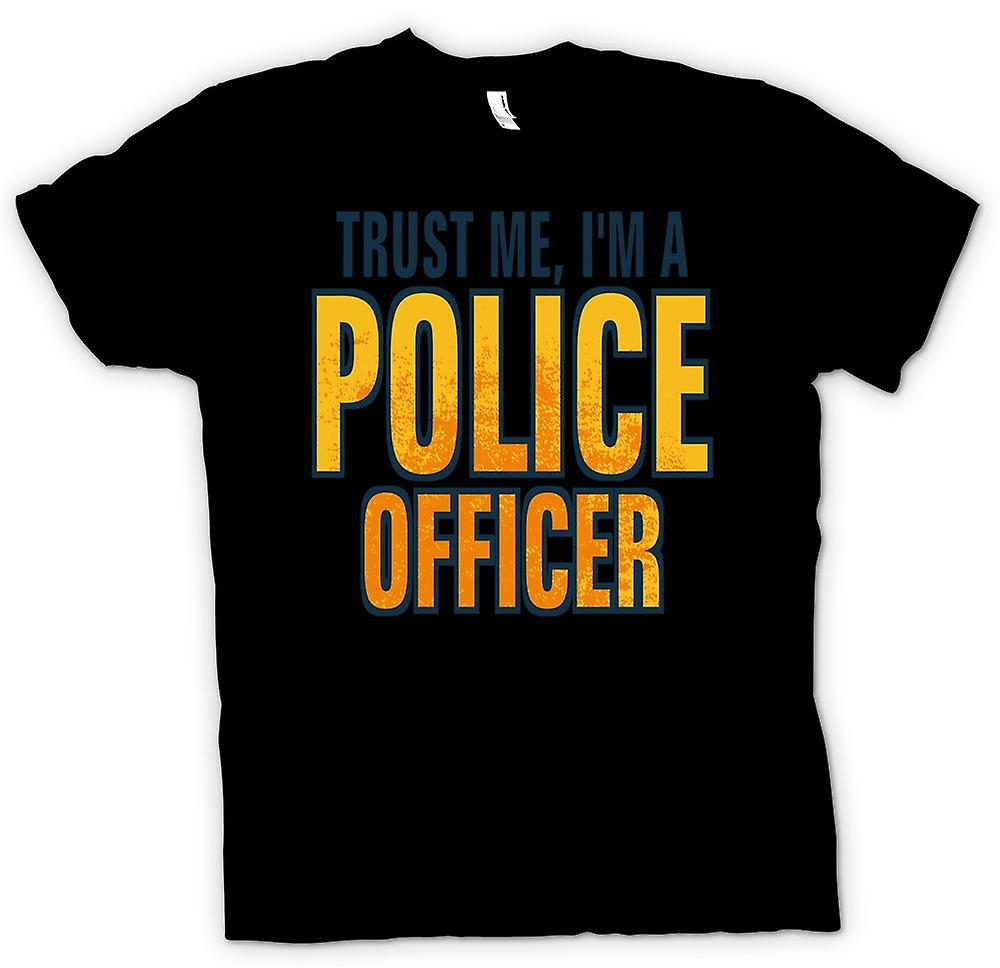 Mens T-shirt - Trust Me I'm A Police Officer - Quote
