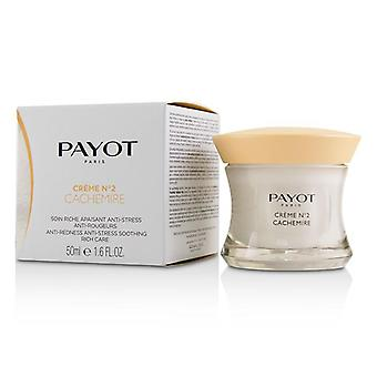 Payot Creme No 2 Cachemire Anti-Redness Anti-Stress Soothing Rich Care - 50ml/1.6oz