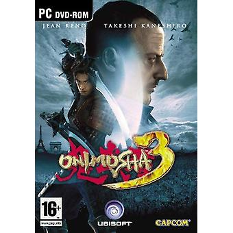 Onimusha 3 Demon Siege Game PC CD Game