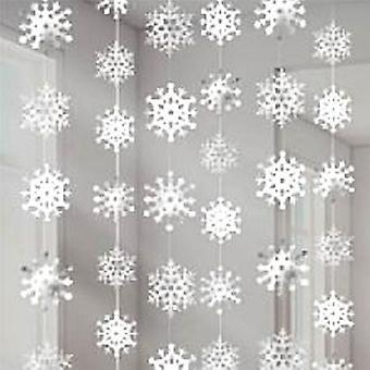 Snowflake String Decoration