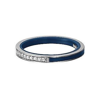 ESPRIT women's ring silver cubic zirconia blå ESRG91939D1