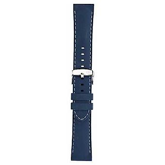 Morellato Strap Only - Carezza Silicone Blue 24mm A01U3844187060CR24 Watch