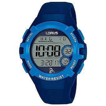 Lorus Kids Djokovic Foundation Digital Blue Strap Blue Dial R2391LX9 Watch