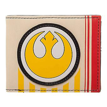 Star Wars Wallet Last Jedi Episode 8 Rebel Logo new Official Bifold