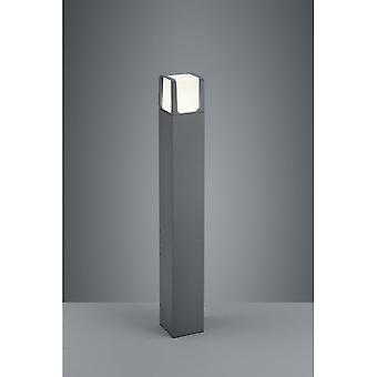 Trio Lighting Ebro Modern Anthracite Diecast Aluminium Floor Lamp
