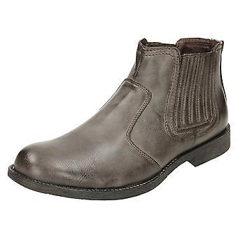 Mens Maverick Ankle Boots