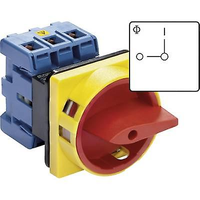 Kraus & Naimer KG41B T203 01 E Isolator switch Lockable 40 A 1 x 90 ° rouge, jaune 1 pc(s)
