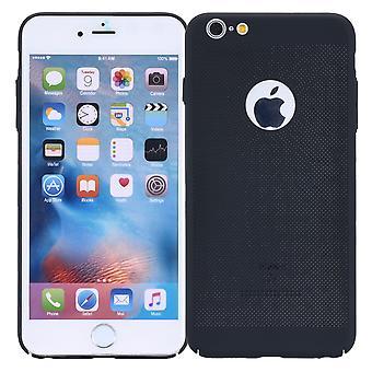 Caja del teléfono celular de Apple iPhone 6s más funda tapa cubre caja negra