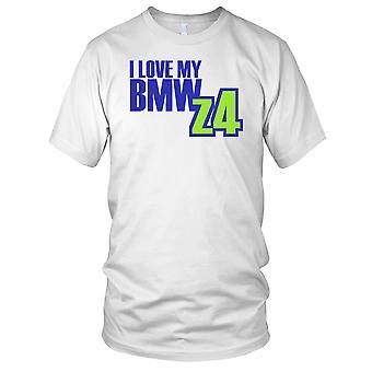 Jeg elsker min BMW Z4 bil Mens T skjorte