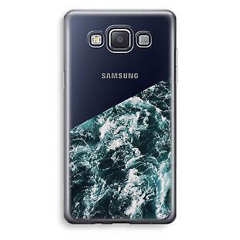 Samsung Galaxy A3 (2015) Transparent Case (Soft) - Ocean Wave