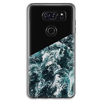 LG V30 Transparent Case - Ocean Wave