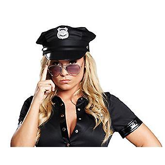 Police cap black
