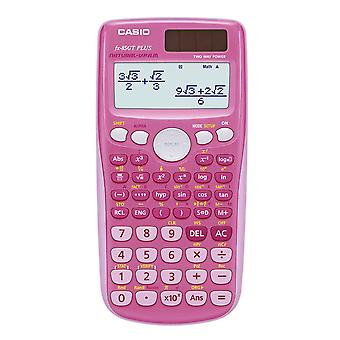 Casio FX-85GTPLUS-PK Battery and Solar Scientific Calculator with 260 Functions