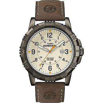 Timex T49990 Expedition Rugged Metal Watches with Natural Colour Dial