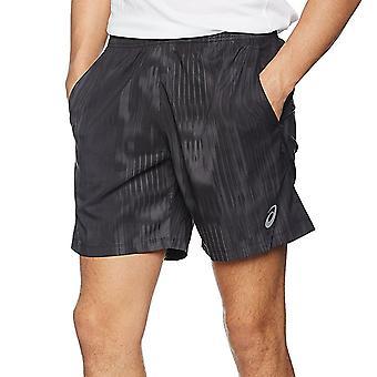 Asics Performance Mens Fuze X 7inch Running Gym Sports Training Shorts - Black