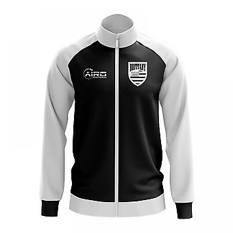 Brittany Concept Football Track Jacket (Black)