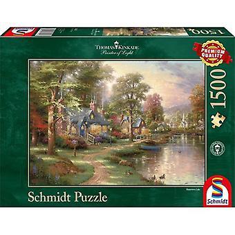 Schmidt puzzel Hometown Lake 1500pcs