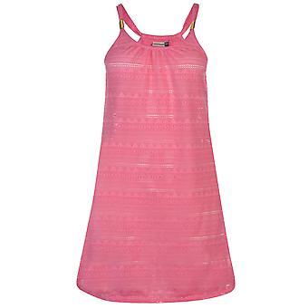SoulCal Womens Mesh Vest Beach Dress Kaftan tunika linne öste hals