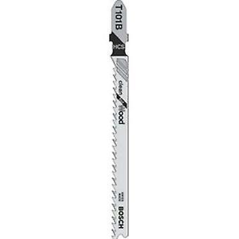 Bosch T101B Jigsaw Blade pk5 schoon gesneden voor hout
