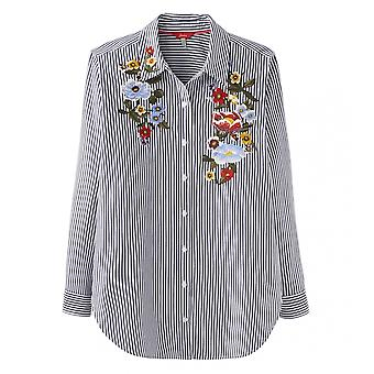 Joules Joules Laurel Embroidery Womens Button Through Shirt S/S 19