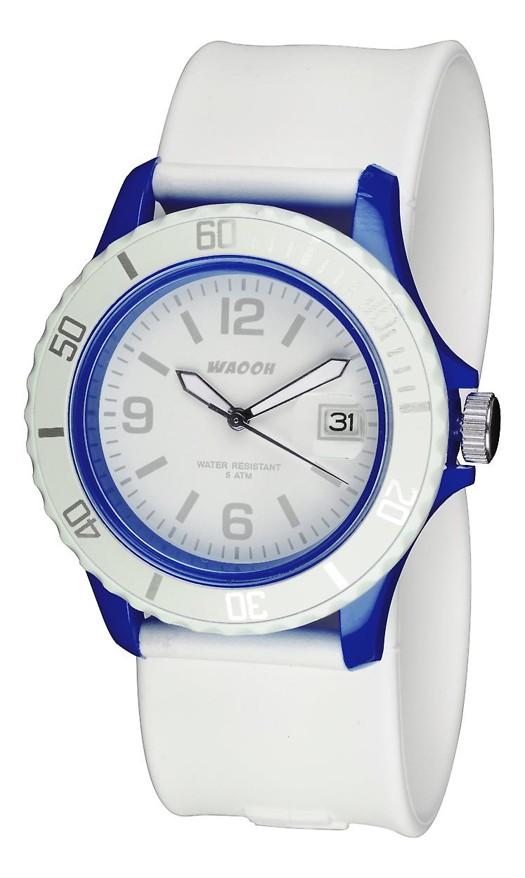 Waooh Watch - white Roller - Housing color