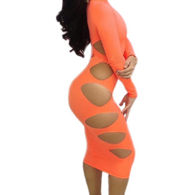 Waooh 69 - Slinky jurk kant aan de kant Christie