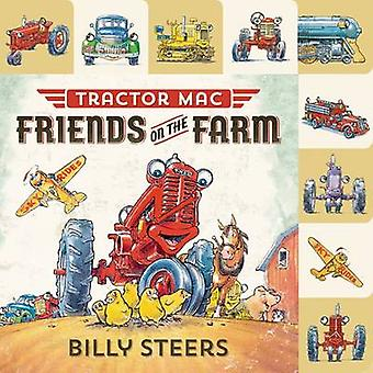Lift-The-Flap Tab - Tractor Mac - Friends on the Farm by Billy Steers -