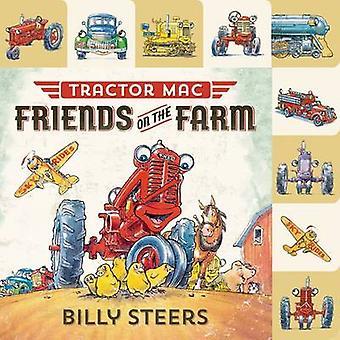 Lift-flappen fane - traktor Mac - venner på Farm af Billy stude-