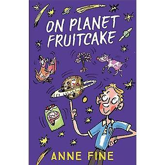 Sur la planète cake de Anne Fine - livre 9781405288996