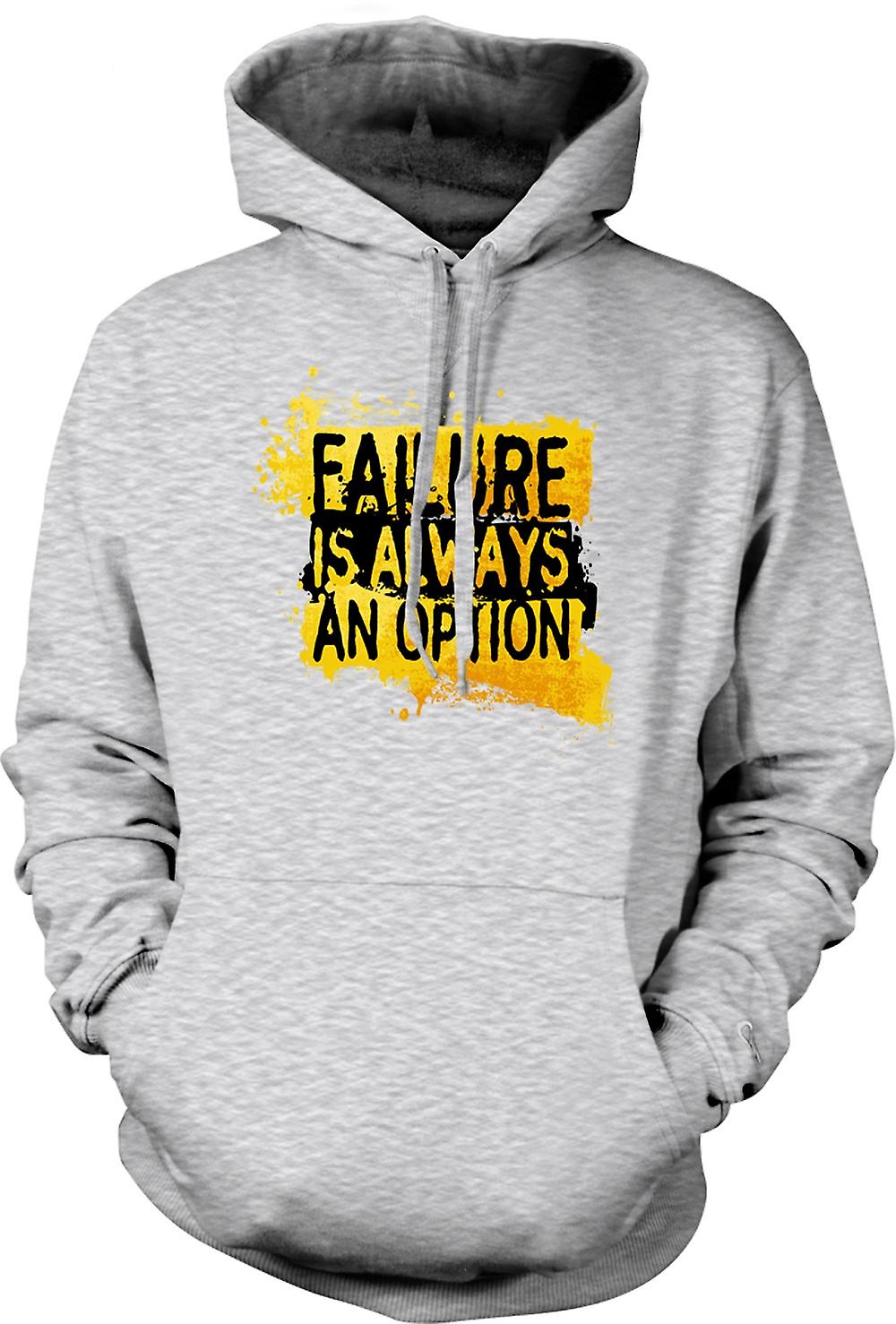 Mens Hoodie - Failure is always An Option - Mythbusters