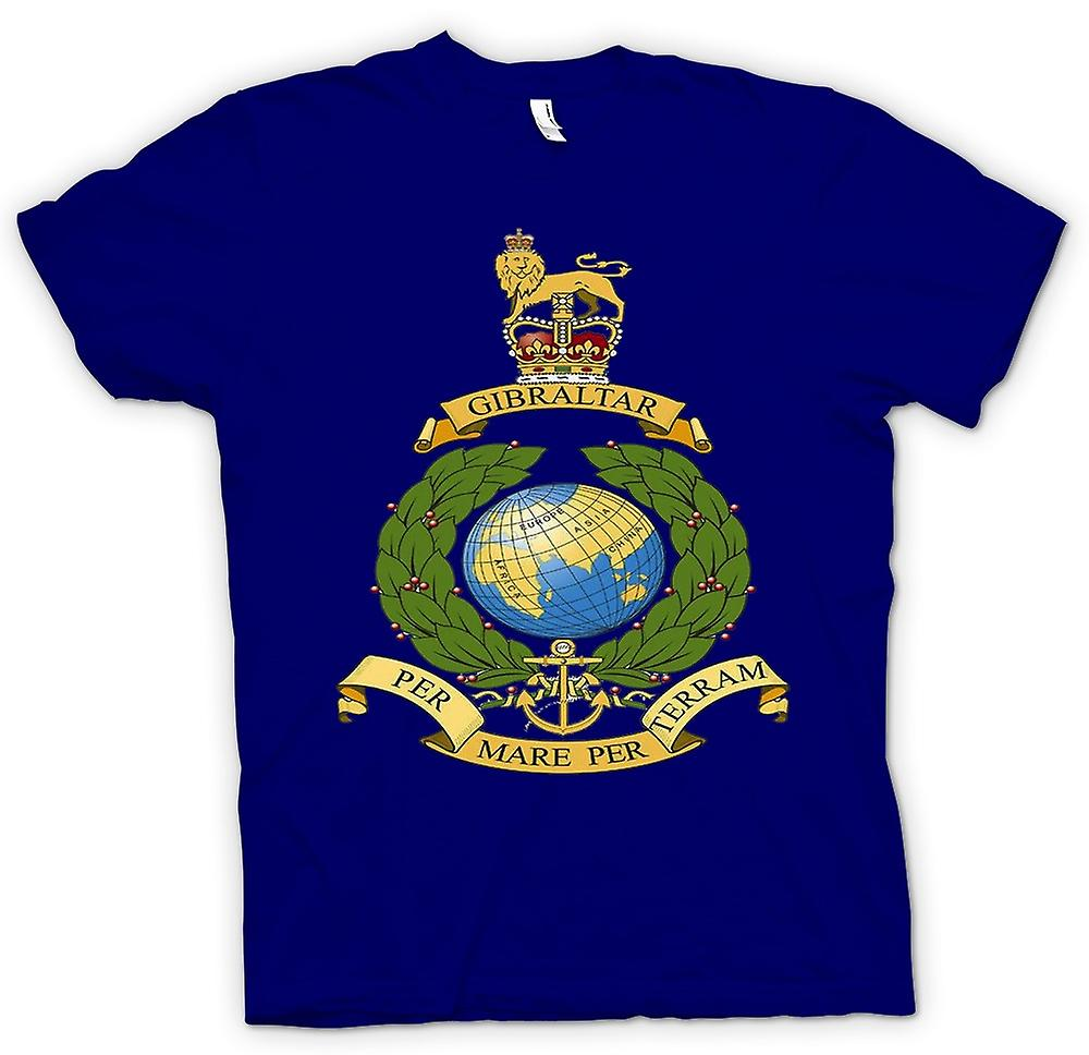 Camiseta para hombre - logotipo Marina Real - por yegua por Terram