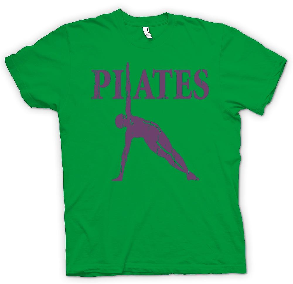 Mens t-shirt - Pilates - Core Fitness Training