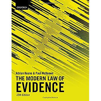 The Modern Law of Evidence - 9780198811855 Book