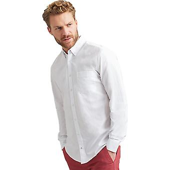 Joules Mens Laundered Button Down Long Sleeve Oxford Shirt