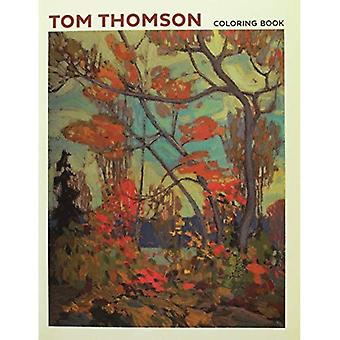 Tom Thomson Coloring Book CB171