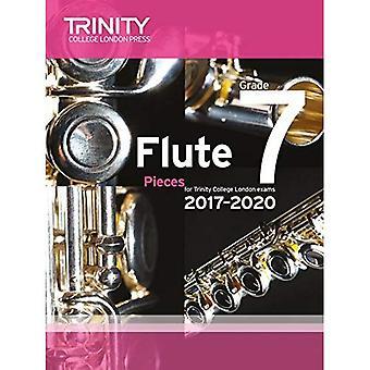 Trinity College London: Flute Exam Pieces Grade 7 2017 to 2020 (score & part)